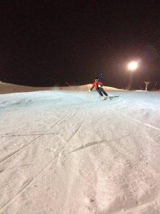 Trening na tyczkach slalomu Cisowa 2017