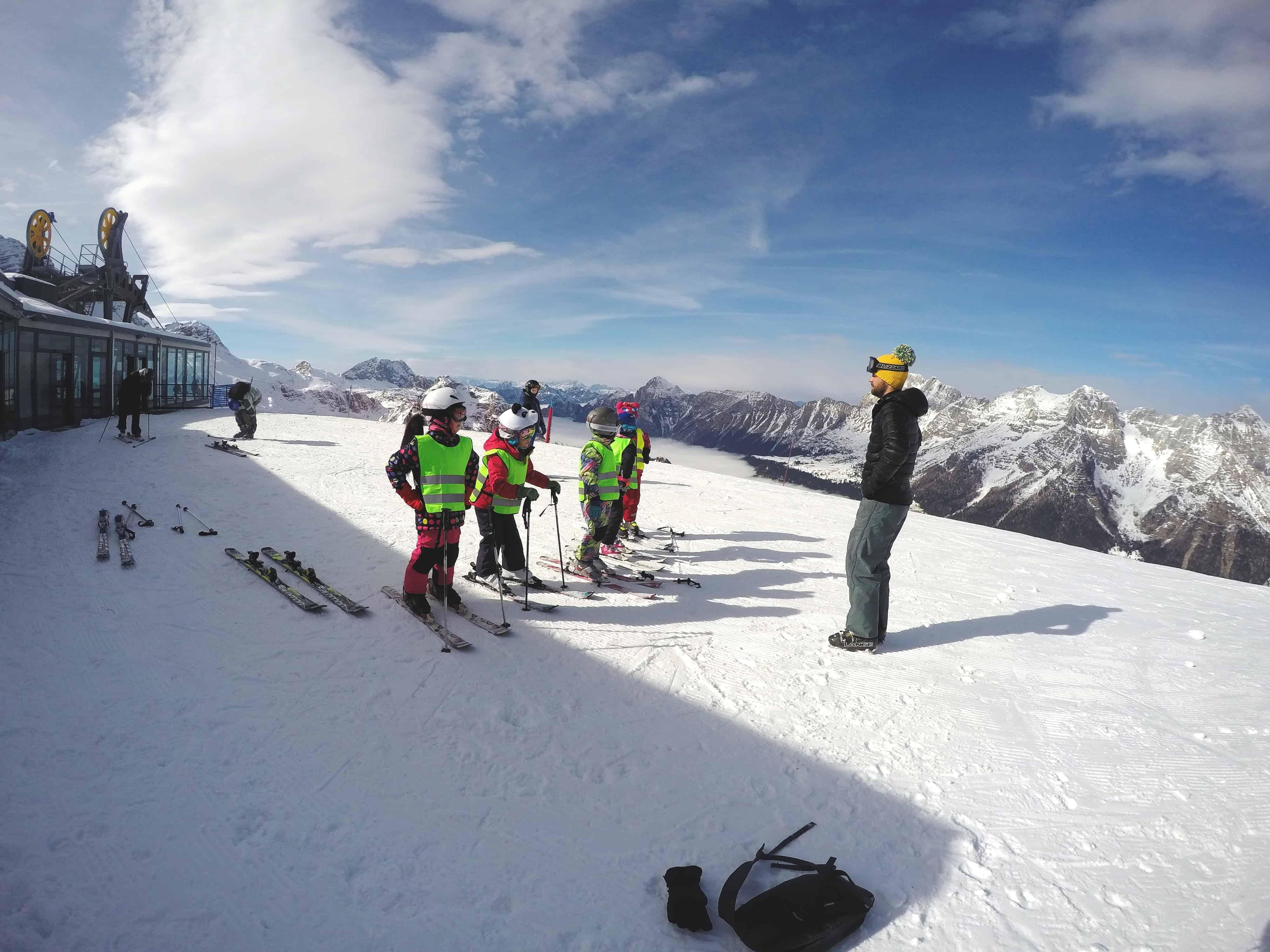 Szkółka narciarska BACTIVE Gliwice - Włochy 2017